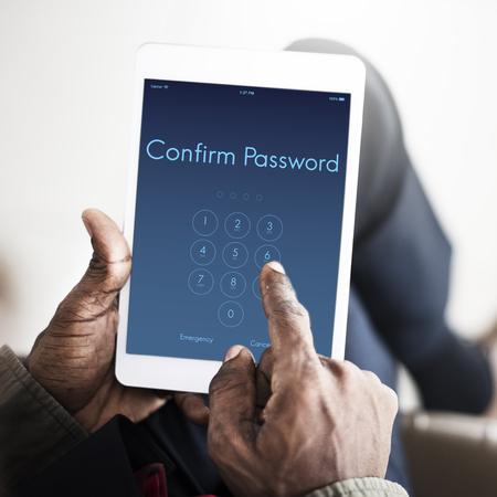 passcode: Access Identification Password Passcode Graphic Concept