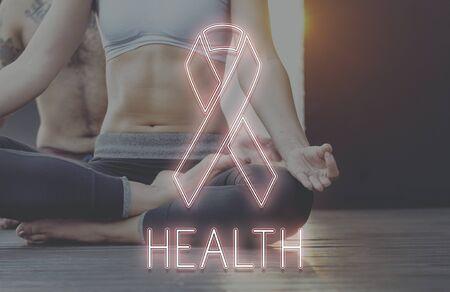 awareness ribbon: Womens Health Awareness Ribbon Concept