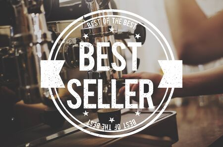 seller: Best Seller Certificate Stamp Concept