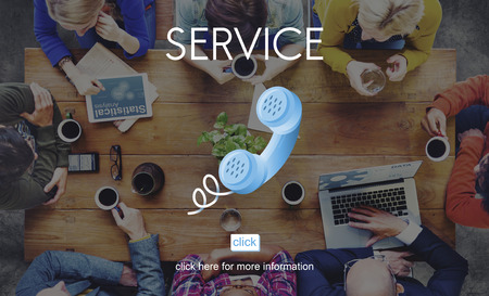 customer support: Service Customer Aid Support Utility Assistance Concept