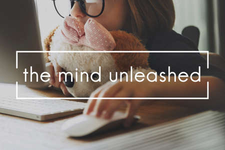 unleashed: The Mind Unleashed Ideas Innovation Vision Concept Stock Photo