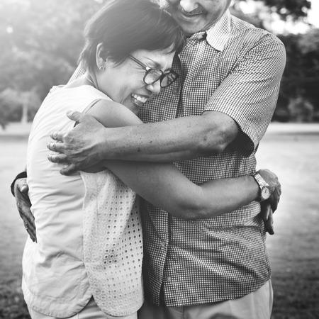 Pareja Familia esposa del marido Concepto Amor Romance