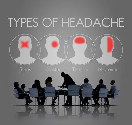 tension: Headache Symptom Migraine Tension Cluster Concept