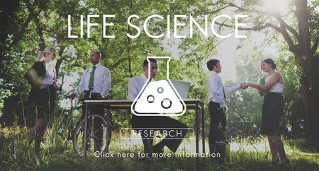 research science: Scientific Biochemistry Genetics Engineering Concept Stock Photo
