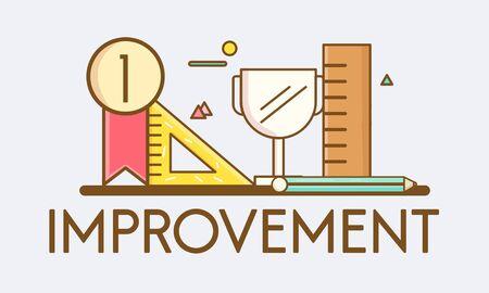 enhance: Improvement Deevlopment Enhance Refine Growth Motivation Concept