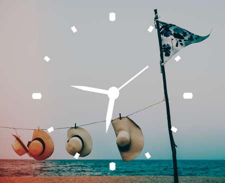 punctual: Time Management Clock Timing Punctual Organization Concept