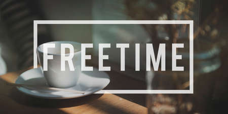 free time: Free Time Freedom Break Emancipated Harmony Relaxation Concept