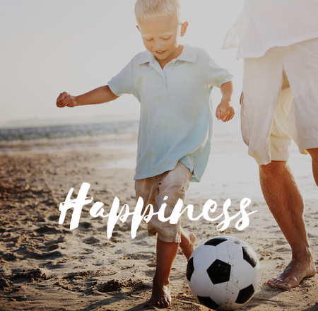 Happiness concept Stock Photo