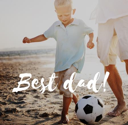 Best dad concept