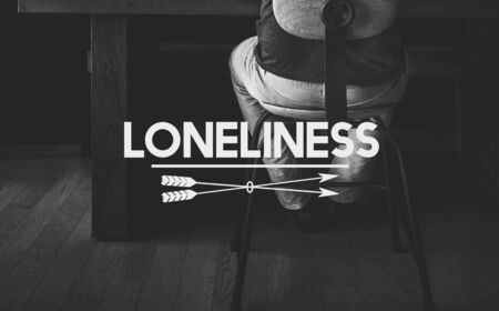 heartbroken: Despair Loneliness Unhappy Heartbroken Concept Stock Photo