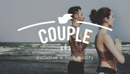 afecto: Pareja de atenci�n como la pasi�n Concepto Romance Afecto Amor