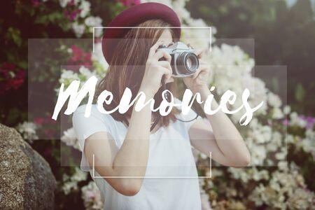 recordar: Memorias Mente Recordando Recuerde Concept Foto de archivo