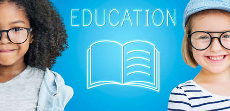 elementary age: Education Improvement Intelligence Skills Graphic Concept