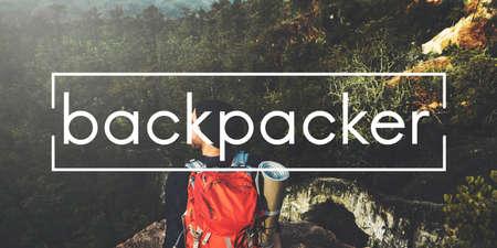 backpacker: Camp Backpacker Adventure Concept