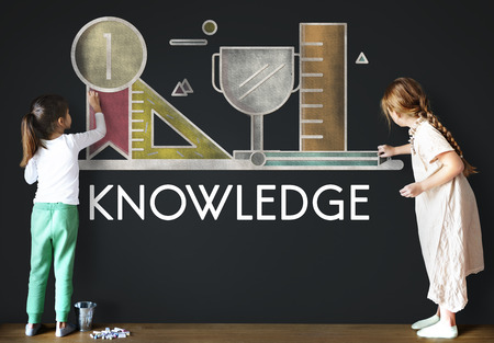 literacy: Academic Knowledge Literacy Wisdom Education Concept Stock Photo
