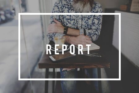 annoucement: Report Annoucement Journalist Research Content Concept