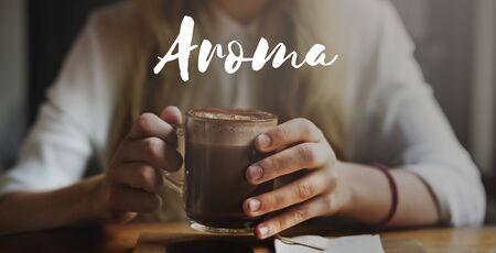 mellow: Aroma Mellow Beverage Cafe Hot Chocolate Enjoy Concept