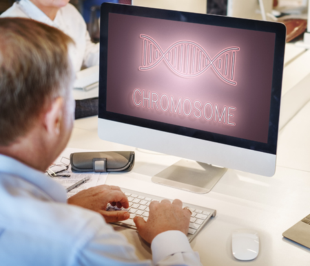 life science: DNA Helix Life Science Graphic Concept Stock Photo