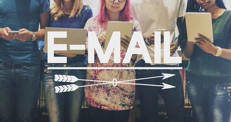 correspondence: E-mail Correspondence Communication Technology Concept