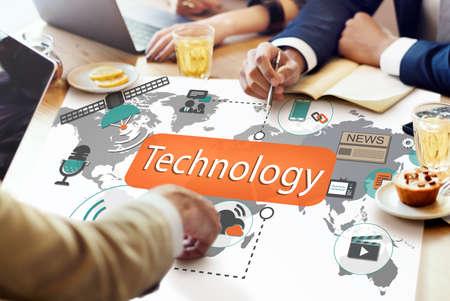 Technology Digital Evolution Innovation Concept Stock Photo