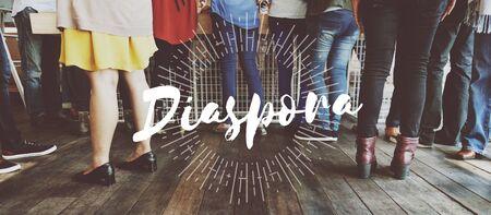 diaspora: Socialize Diaspora Start up Initiation Team Building Concept