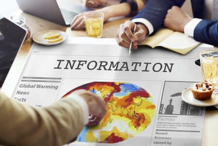 Information Communication Data Content Sharing Concept Stock Photo