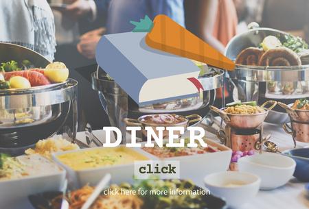 diner: Diner Dinner Meal Menu Concept