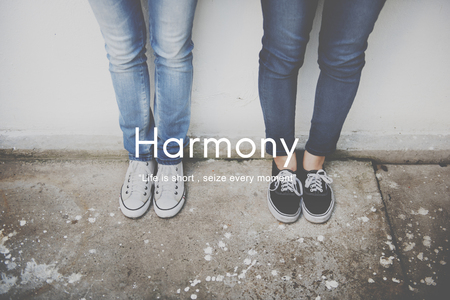 concurrence: Harmony Happiness Activity Life Concept