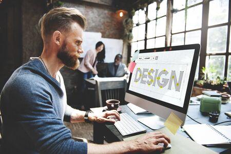 Design Draft Creative Ideas Concept