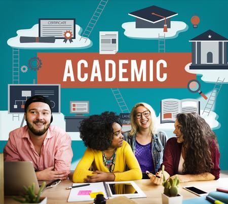 Collage Academisch Onderwijs Instelling Concept