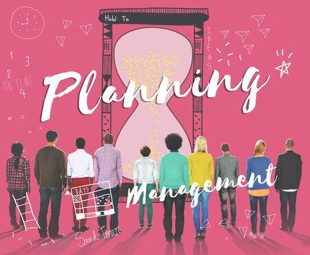organise: Planning Prioritize Priority Allotment Deadline Concpet