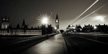 City of Westminster London At Night Concept