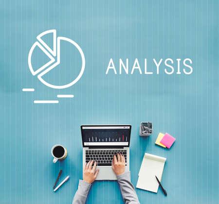 Analysis Analyse Summary Progress Target Concept 版權商用圖片