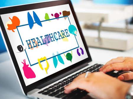 medical checkup: Healthcare Treatment Prevention Medical  Checkup Concept Stock Photo