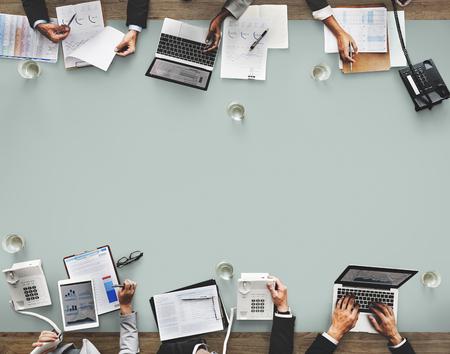 Réunion de l'équipe d'affaires Brainstorming Concept d'entreprise