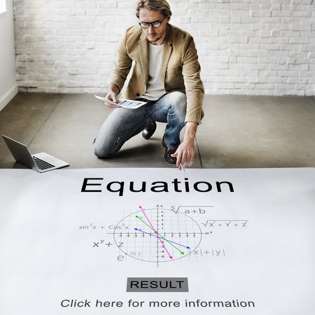 theorem: Equation Formula Geometry Calculation Concept