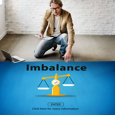 imbalance: Imbalance Choice Comparison Complexity Risk Concept