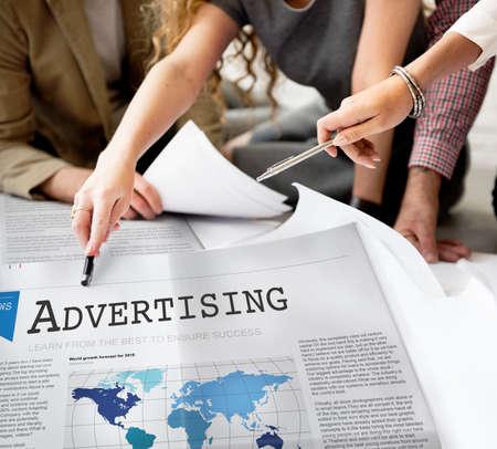 commerce: Advertising Branding Commerce Promotion Concept
