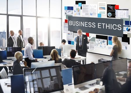 business ethics: Business Ethics Honesty Integrity Concept