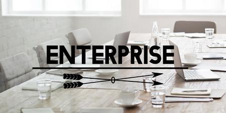 Enterprise Venture Firm Société Concept