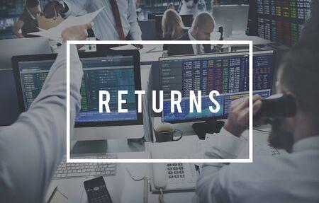 return on investment: Return Investment Deposit Accumulation Deposit Concept