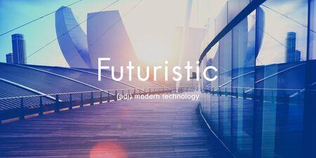 Futuristic Future Technology Creative Development Concept