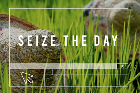 seize: Seize The Day Outdoors People Graphic Concept