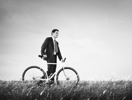 conservative: Bicycle Bike Business Energy Saving Conservative Concept
