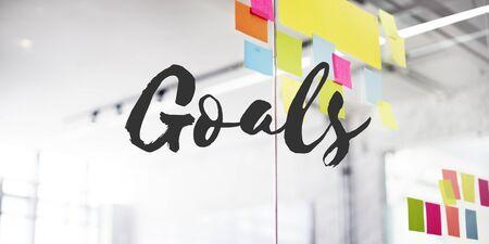 aim: Goals Target Aim Vision Motivation Aspirations Concept