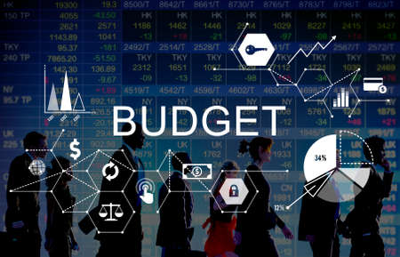 rush hour: Budget Capital Finance Economy Investment Money Concept