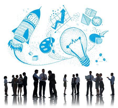 Ideas Creativity Imagination Light Bulb Concept Stock Photo