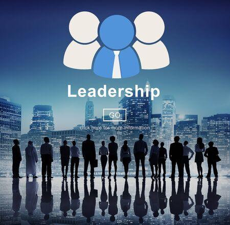 authoritarian: Leadership Boss Coach Director Authoritarian Concept