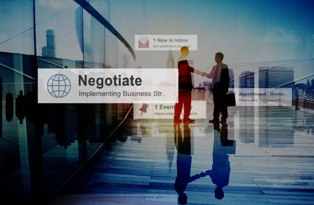 deliberations: Business People Hand Shake Partnership Teamwork Deal Concept