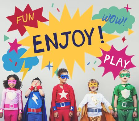 playful: Kid Child Chilren Playful Childhood Concept